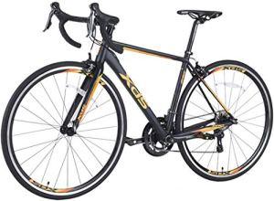 FEE-ZC Cadre Universel en Alliage d'aluminium pour Banlieue 16 Vitesses de vélo de Ville Universel pour Adultes Unisexe