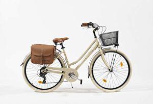 VENICE I Love Italy Vélo de ville 28″ 605 Aluminium Lady Beige