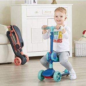 FQCD Vélo Bébé sans Pédales DraisienneUn à Quatre Ans Baby Vélo Enfant Jouet Educatif Baby Walker, Premier Anniversaire Cadeau pour (Color : Orange, Size : 26 * 57 * 62-83cm)