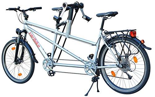 Main + Pied Tandem. Vari Bike
