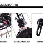 CSS Vélos de route, vélos de 24 pouces à 26 vitesses, frein à disque double, cadre en acier à haute teneur en carbone, course de vélo de route, hommes et femmes seulement 7-10 ans