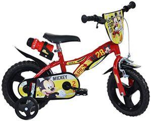 Dinobikes Boys Vélo pour Enfant Rouge 12″