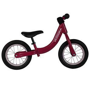 Hudora 10421/00 Comfort Bordeaux – Vélo pour Enfant avec pneus à air 12″ – Roue d'apprentissage à partir de 3 Ans avec Selle réglable en Hauteur – Vélo pour Enfant