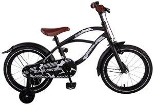 Kubbinga Volare Black Cruiser Vélo pour garçon Taille Unique Noir Mat