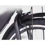 NIUYU 7 Vitesses Vélo, Hommes et Femmes Vélo de Ville Léger Vélo de Route pour Ados Étudiants Urbain Commuter Environnement de La Ville-A-26pouce