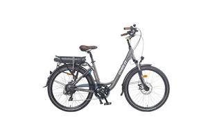 Vélo électrique col de cygne 20' OVELO-ZEN 36V16Ah VG Bikes Gris Volcano