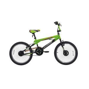 Motodak Velo BMX 20 jumpertrek Freestyle Acier jetix Noir-Vert Taille 24