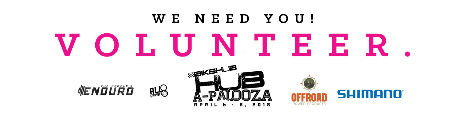 Hub-a-Palooza 2018 – Call for Volunteers!