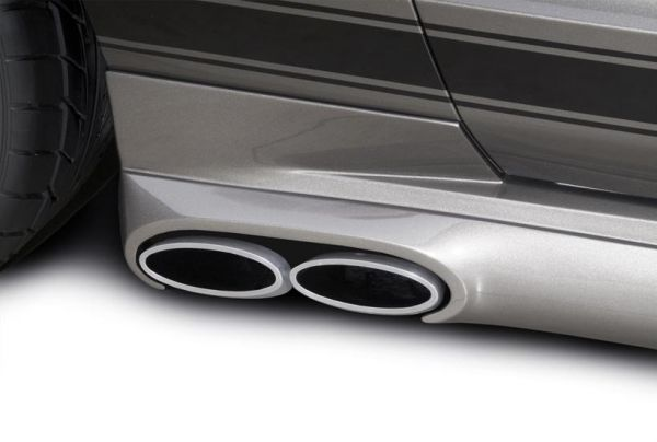 coupe 4 6 exhaust system kit cervinis side pipe coupe