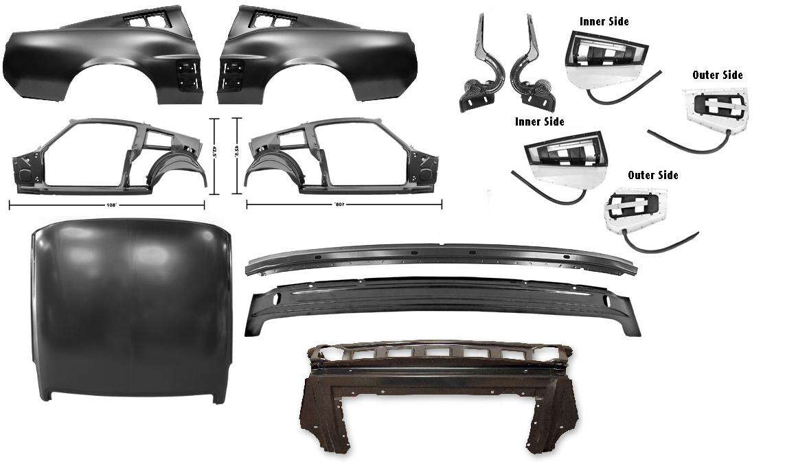 In 1969, chevy, oldsmobile, dodge, and ford were in a race to see who could produce the most powerful muscle car. 1967 Ford Mustang Hardtop Frame Repair Kit Fastback Conversion Kit