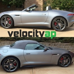 Jaguar F-Type Progressive Rate Lowering Springs