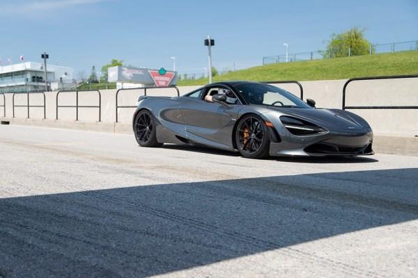 McLaren 720S Progressive Rate Lowering Springs