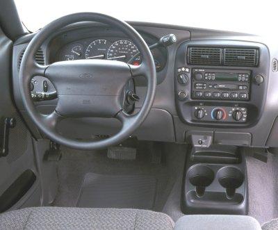 2000 Ford Ranger Extended Cab Interior