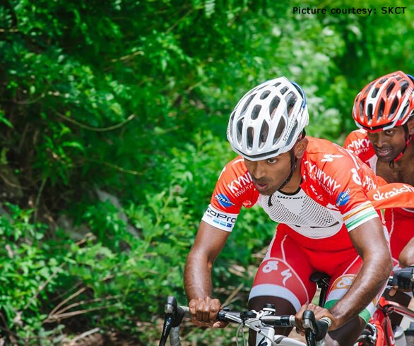 Naveen John – India's 1st International pro Cyclist