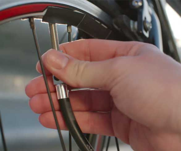 Bike tire pressure
