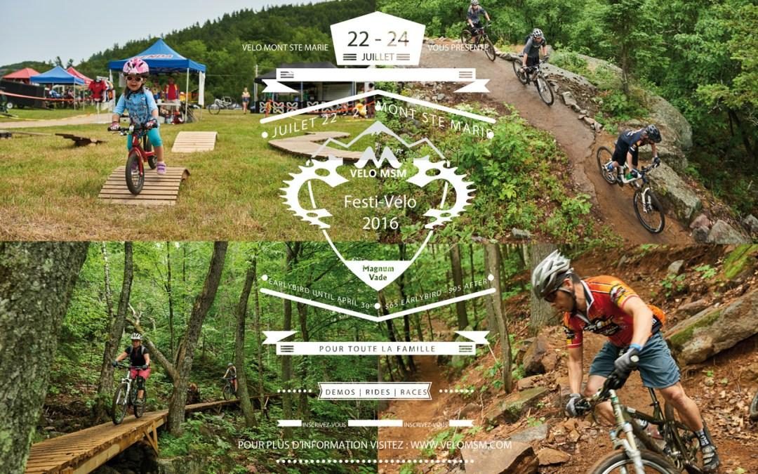 Réservez la date du Festi-Vélo 2016