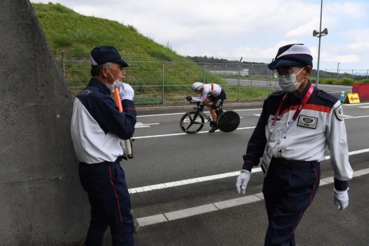 Tokyo Olympics: German coach condemned for racist comments during men's time trial