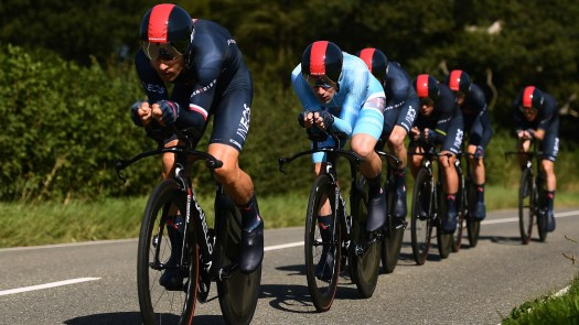 Tour of Britain stage 3: Ineos Grenadiers win team time trial, Ethan Hayter assumes overall lead
