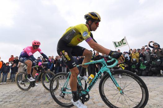 Paris-Roubaix top contenders: Peter Sagan, Mathieu van der Poel, Wout van Aert center of intergenerational clash
