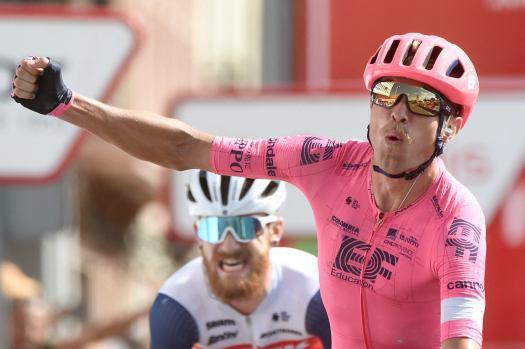Vuelta-hero Magnus Cort climbs to worlds favorite status