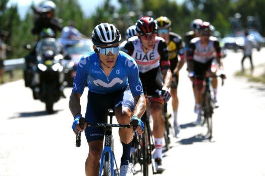Miguel Ángel López quits Vuelta a España after podium spot slips away