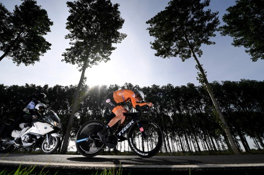 World championship women's time trial: Ellen van Dijk roars to second rainbow jersey