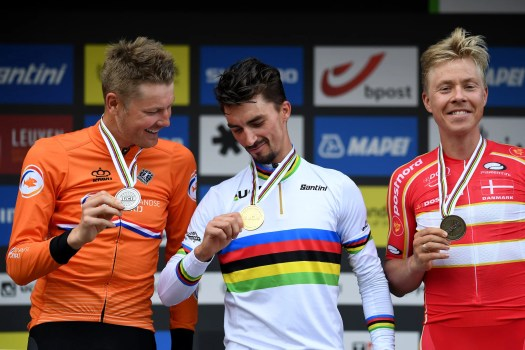 Coming up aces, Dylan van Baarle and Michael Valgren: 'The miracle was Julian Alaphilippe'