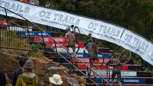 What Marianne Vos, Gage Hecht, and others said after a soggy UCI Cyclocross World Cup in Fayetteville
