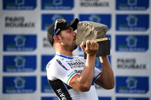 Sonny Colbrelli: 'This morning I didn't think I would even manage to finish Paris-Roubaix'