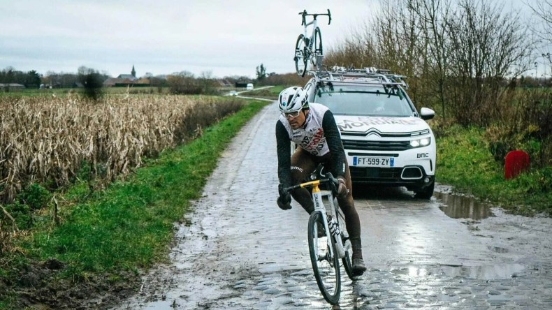 Greg Van Avermaet gets taste of 'wet' cobbles in Paris-Roubaix test –  VeloNews.com