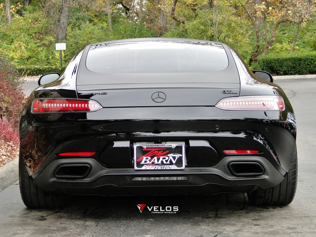 Mercedes AMG GTS On Velos S3 2 Pc Forged Wheels VELOS
