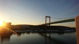 Skøn morgen på vej fra Göteborg (5)