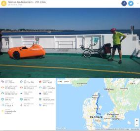 Samsø-Frederikshavn ruten