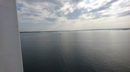 Stille vejr på færgen hjem