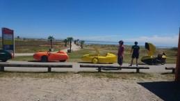 Velomobiler ved Palmestranden