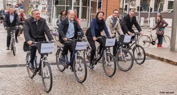 ECF bringt Offizielle aufs Rad   Velostrom, Pedelec Online ...