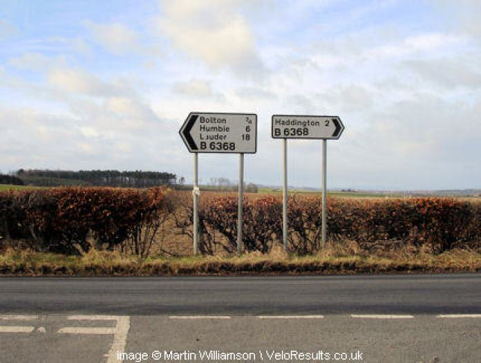 Turning left for Bolton.