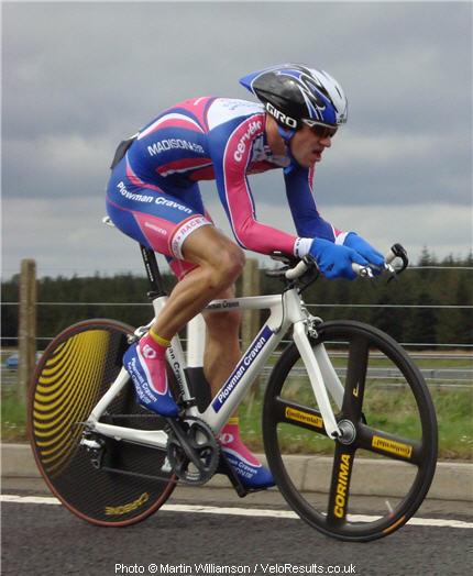 Ev still has the best legs in Scottish cycling!