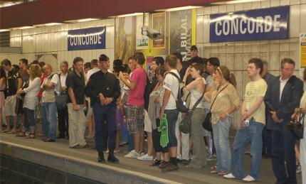 Metro's everywhere are the same; grim.