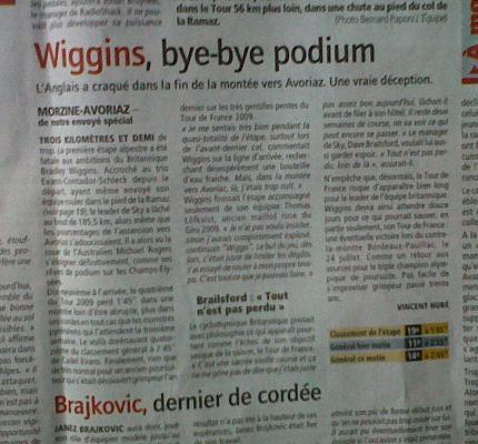 Wiggins Bye Bye Podium