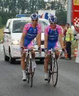 Lampre in formation.