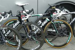 Thor's understated Green Jersey bike.