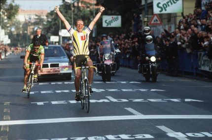 Winning in Sanremo was the height of Laurent's 1987 season.