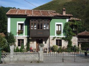 Typical Asturian House.