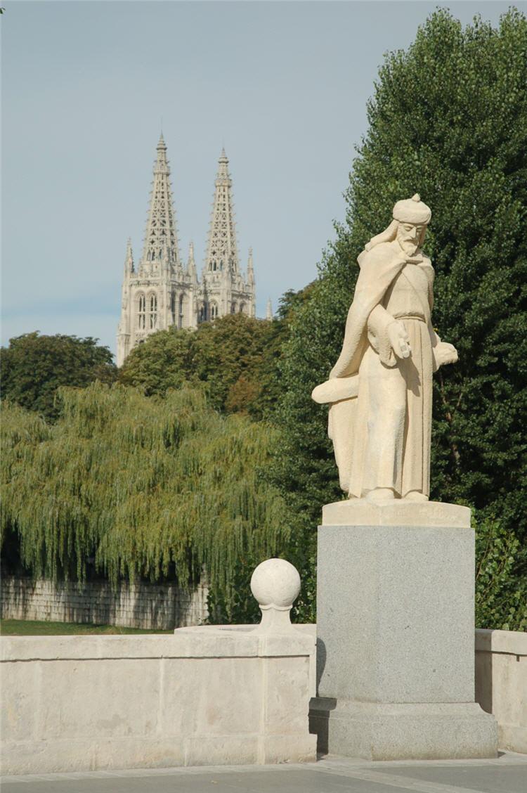 Burgos Statue.