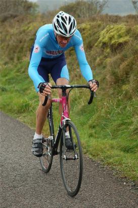 Steve tackles the hill climb championships.