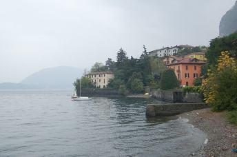 Lago di Como, beautiful, even in the rain.