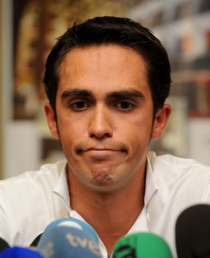 Like Armstrong, Contador seems to be polarising cycling fans.