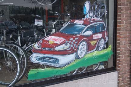 The Asfra Flanders shop window.