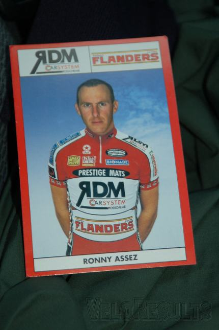 Ronny's Hero Card from his Pro days.